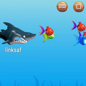 spelling oefenen met Shark Attack